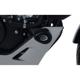 Tampons de protection R&G RACING Aero noir Honda CB125R
