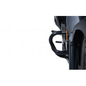 Protections latérales R&G RACING noir Suzuki V-Strom 250