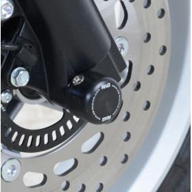 Protections de fourche R&G RACING noir Yamaha N-Max 125
