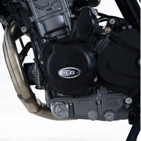 Couvre-carter gauche (alternateur) R&G RACING noir KTM Duke 790