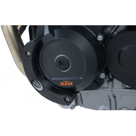 Slider moteur gauche R&G RACING noir KTM 790 Duke