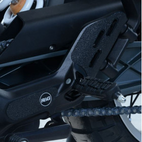 Kit protection de cadre R&G RACING noir (4 pièces) Husqvarna Svartpilen 401
