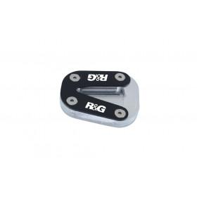 Patin de béquille R&G RACING argent KTM Duke 790