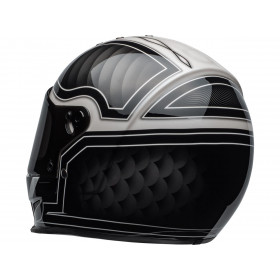 Casque BELL Eliminator Outlaw Gloss Black/White taille M