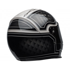 Casque BELL Eliminator Outlaw Gloss Black/White taille L