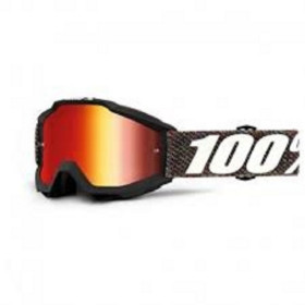 ACCURI GOGGLE 100% KRICK//MIRROR RED LENS
