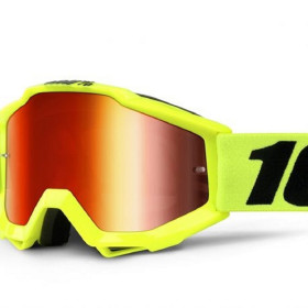 ACCURI YOUTH GOGGLE 100% - FLUO YELLOW /