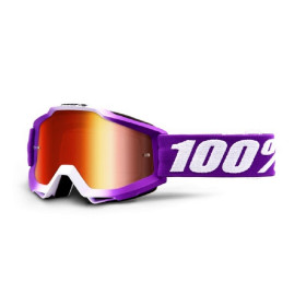 ACCURI YOUTH GOGGLE 100% - FRAMBOISE //