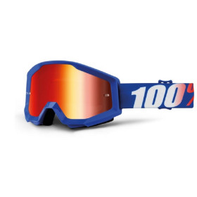 STRATA GOGGLE 100% - NATION // MIRROR BL