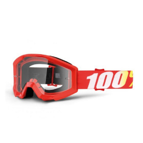 STRATA YOUTH GOGGLE 100% FURNACE // CLEAR LENS