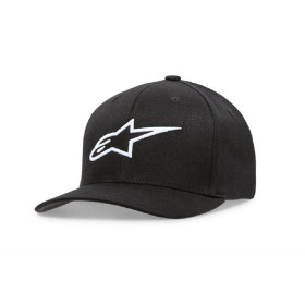 WOMENS AGELESS HAT BLACK/WHITE OS