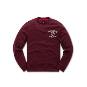 GEAR FLEECE BURGUNDY L