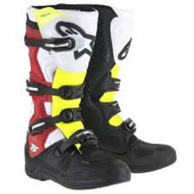 TECH 5 BLACK WHITE RED YELLOW FLUO T8