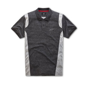 DOUBLE FACE POLO CHARCOAL L