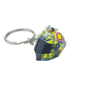 KEY RING 3D HELMET MULTICOLOR VRL46