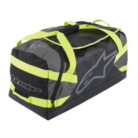 GOANNA DUFFLE BAG BLACK ANTHRACITE YELLO