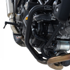 Protections latérales R&G RACING noir Suzuki SV650X
