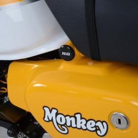 Insert de cadre R&G RACING noir Honda Monkey