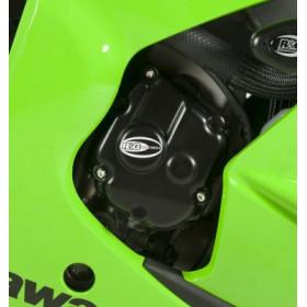 Couvre carter R&G RACING noir 3 pièces Kawasaki ZX10