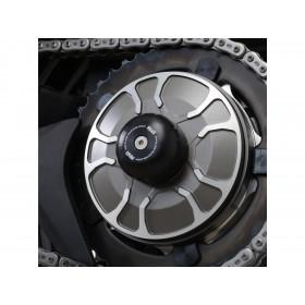 Protection de bras oscillant R&G RACING noir Kawasaki H2 SX