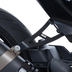 Patte fixation de silencieux R&G RACING noir Husqvarna Vitpilen 701