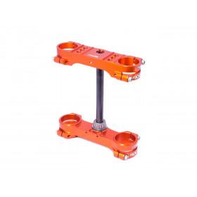 Té de fourche XTRIG Rocs Tech orange offset 25mm
