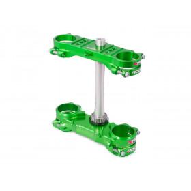 Té de fourche XTRIG Rocs vert offset 23mm