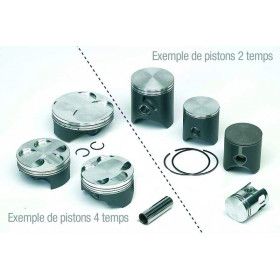 Piston TECNIUM forgé Ø76,97mm compression standard Yamaha YZ250F