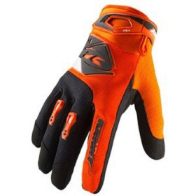 GANTS BRAVE ENFANT 5 NEON ORANGE