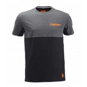T-SHIRT RACING S BLACK GREY