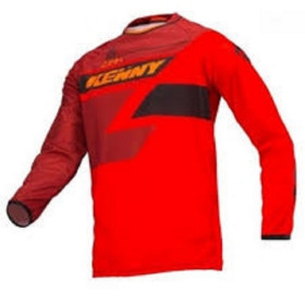 MAILLOT TRACK ADULTE M FULL RED