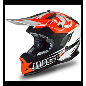 CASQUE JUST1 J32.PRO RAVE NOIR/ORANGE TA