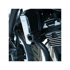 Tampons de protection R&G RACING Classic Style noir Kawasaki Z900RS