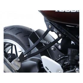 Patte de fixation de silencieux R&G RACING noir Kawasaki Z900RS
