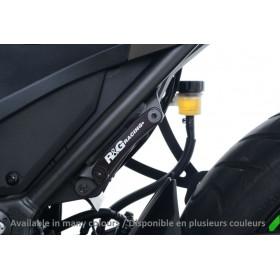 Kit suppression repose-pieds arrière R&G RACING bleu Suzuki GSX-R 125