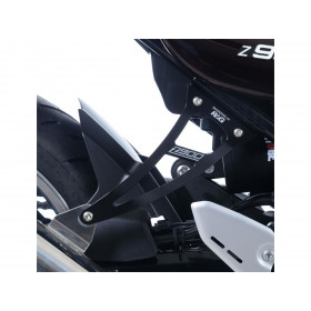 Kit suppression repose-pieds arrière R&G RACING noir Kawasaki Z900RS