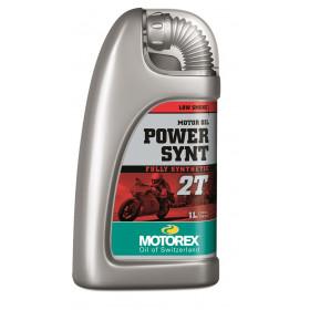 Huile moteur MOTOREX Power Synt 2T 100% synthétique 61L