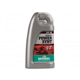 Huile moteur MOTOREX Power Synt 4T 5W40 100% synthétique 1L