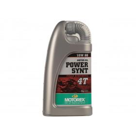 Huile moteur MOTOREX Power Synt 4T 10W60 100% synthétique 1L