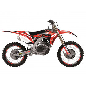Kit déco BLACKBIRD Dream Graphic 4 Honda CRF450X
