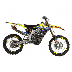 Kit déco BLACKBIRD Dream Graphic 4 Suzuki RM85
