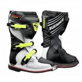 BOTTES TRACK JUNIOR 35 WHITE BLACK NEON