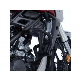 Protections latérales R&G RACING Adventure noir Honda CB125R/300R