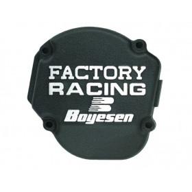 Couvercle de carter d'allumage BOYESEN Factory Racing noir Yamaha PW50
