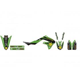 Kit déco BLACKBIRD Rockstar Energy Kawasaki KX450