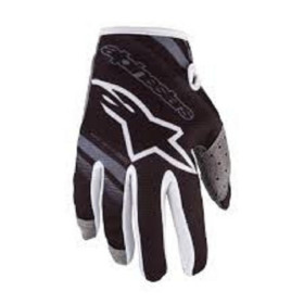 YOUTH RADAR GLOVES BLACK MID GRAY 3XS