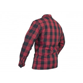 Veste textile RST Lumberjack Aramid CE rouge taille 3XL homme