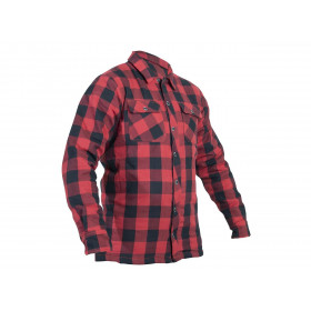 Veste textile RST Lumberjack Aramid CE rouge taille S homme