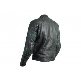 Veste cuir RST Hillberry CE vert taille M homme