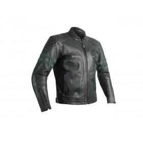 Veste cuir RST Hillberry CE vert taille 3XL homme
